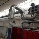 System filtrowentylacji TEKA, dla dymów spawalniczych i szlifierni